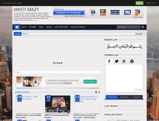 mastimazy.blogspot.com screenshot