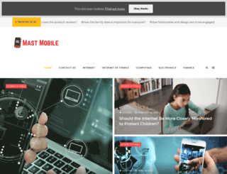 mastmobile.com screenshot