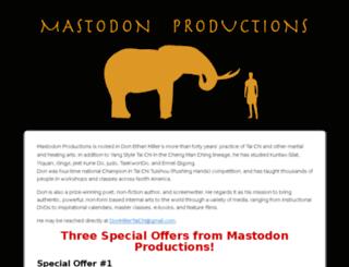 mastodon.wpengine.com screenshot