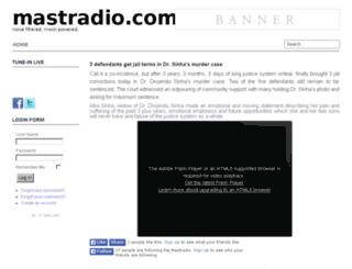 mastradio.com screenshot