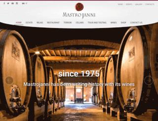 mastrojanni.com screenshot