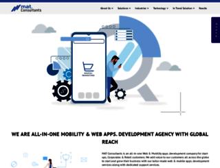 mat-consultants.com screenshot
