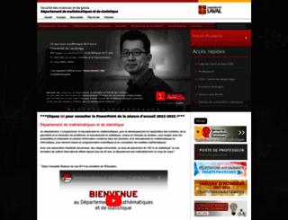 mat.ulaval.ca screenshot