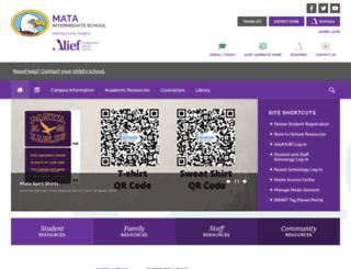 mata.aliefisd.net screenshot