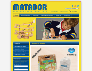 matador.net.nz screenshot