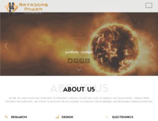 matadorspower.com screenshot