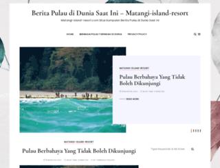 matangi-island-resort.com screenshot