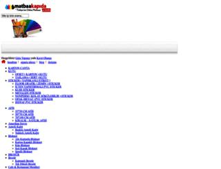 matbaakapida.com screenshot