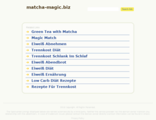 matcha-magic.biz screenshot