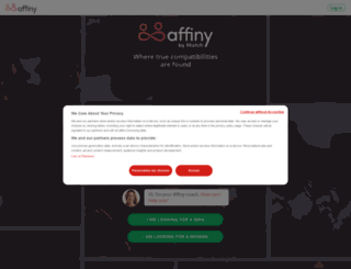 matchaffinity.co.uk screenshot