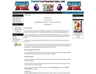 matchattaxtradingcards.com screenshot