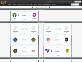matchcenter.houstondynamo.com screenshot