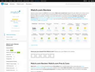matchcom.knoji.com screenshot