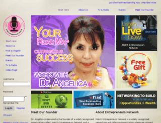 matchentrepreneursnetwork.com screenshot