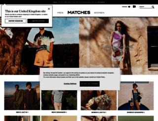 matchesfashion.com screenshot