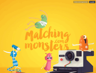 matchingmonsters.com screenshot