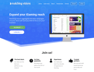 matchingvisions.com screenshot