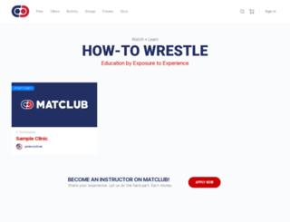 matclub.com screenshot