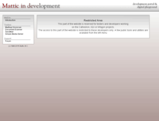 matdev.com screenshot