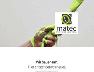 matec-products.de screenshot