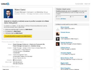 mateigarici.ro screenshot