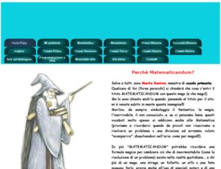 matematicandum.altervista.org screenshot