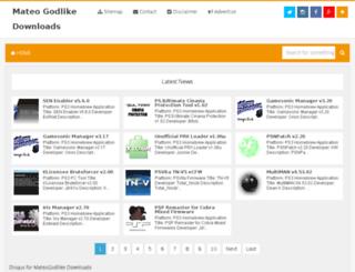 mateogodlikedownloads.com screenshot