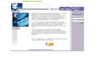 matera2.servizilocalispa.it screenshot