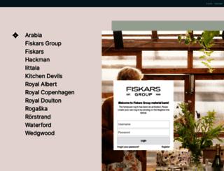 materialbank.fiskars.com screenshot
