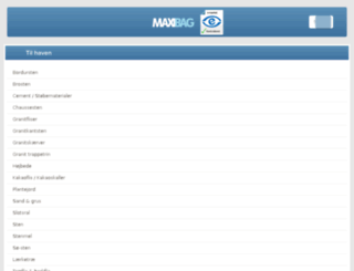 materialediscount.dk screenshot