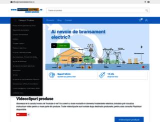 materialeelectrice.ro screenshot