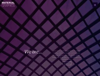 materialgraphics.com screenshot
