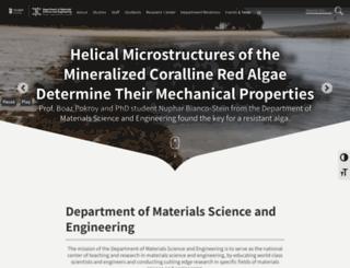 materials.technion.ac.il screenshot