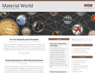 materialworldblog.com screenshot