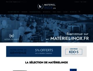 materiel-inox.fr screenshot