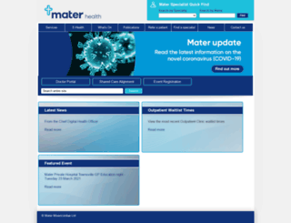 materonline.org.au screenshot