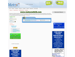 matexnetb2b.com screenshot