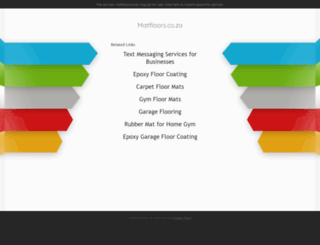 matfloors.co.za screenshot