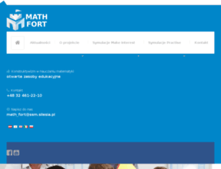 math-fort.eu screenshot