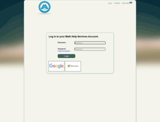 math-help-services.org screenshot