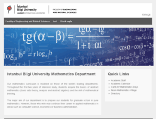 math.bilgi.edu.tr screenshot