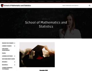 math.carleton.ca screenshot