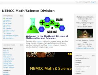 math.nemcc.edu screenshot