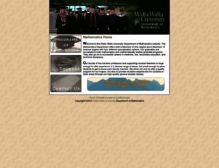 math.wallawalla.edu screenshot