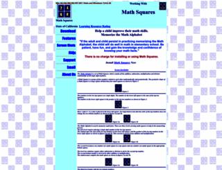 mathalphabet.com screenshot