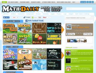 mathdaily.com screenshot