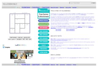 mathdoku.com screenshot