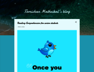 matheikal.blogspot.com screenshot