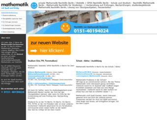 mathematik-nachhilfe-berlin.de screenshot