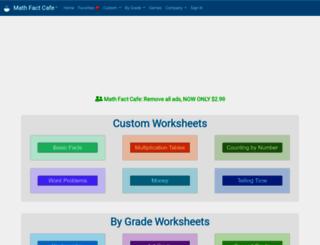 mathfactcafe.com screenshot